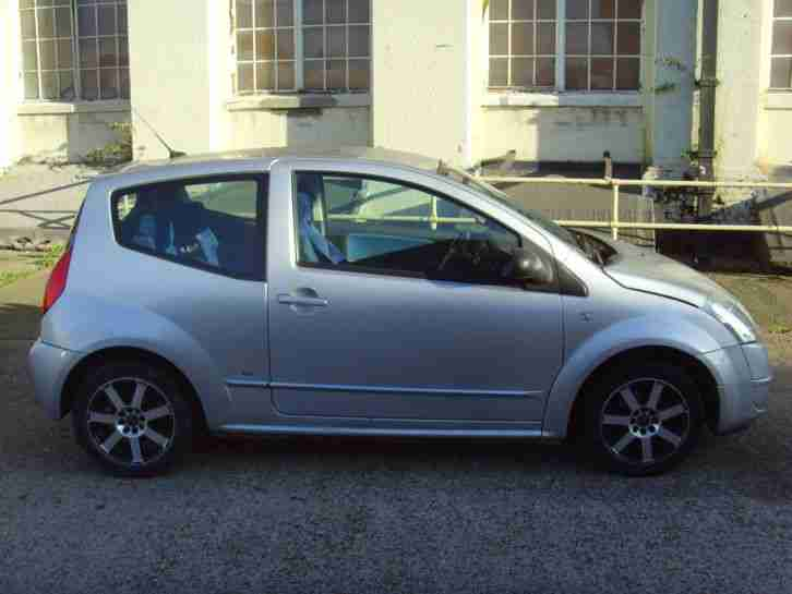 citroen 2008 c2 sx 1 1 silver service history car for sale. Black Bedroom Furniture Sets. Home Design Ideas