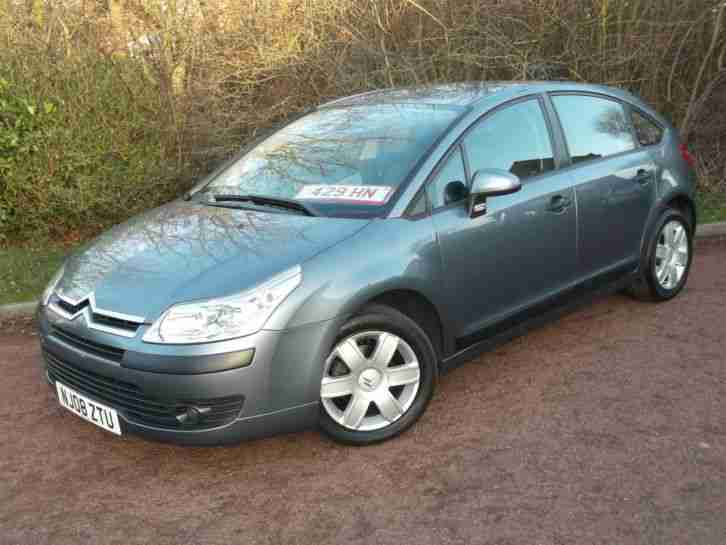 2008 CITROEN C4 COOL, LOW MILES. 5 DOOR, HPI CLEAR, LONG MOT, 3 MONTH WARRANTY