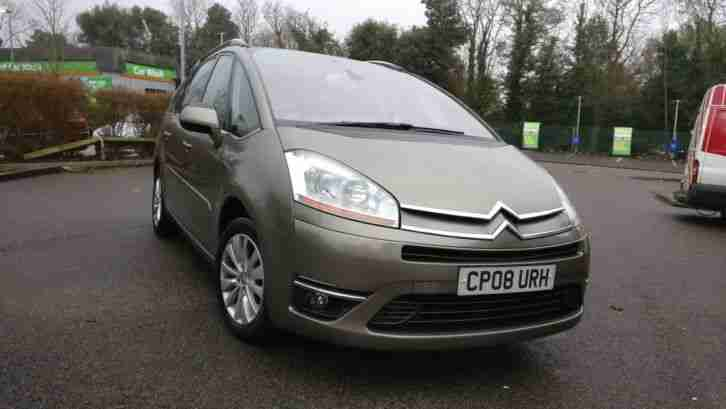 2008 CITROEN C4 GRAND PICASSO EXCLUSIVE 7 SEATER