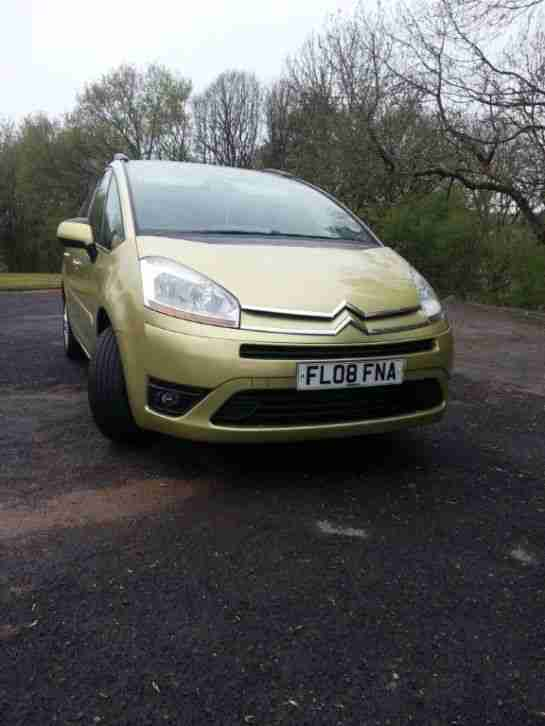 2008 CITROEN C4 GRAND PICASSO VTR PLUS HDI Auto BEIGE/GOLD