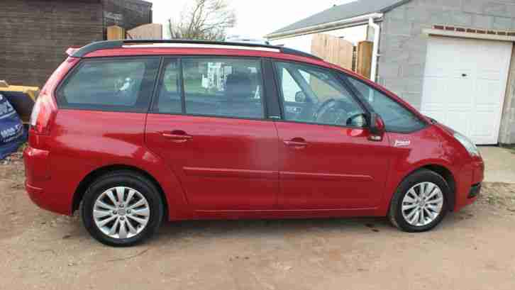 2008 C4 PICASSO VTR PLUS HDI A RED