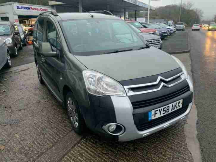 2008 Berlingo 1.6 TD XTR Estate 5dr