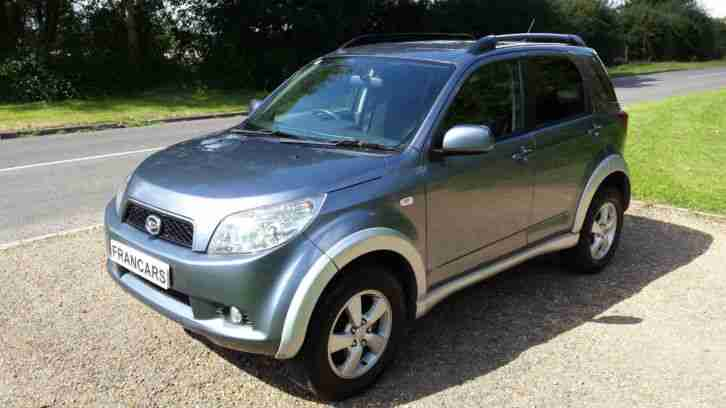 2008 DAIHATSU TERIOS 1.5 SX, 4 x4 1 OWNER FULL MAIN DEALER SERVICE HISTORY