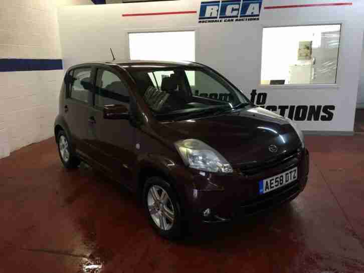 2008 Daihatsu Sirion 1.0L SE 5dr Manual Hatchback Petrol Cheap To Insure