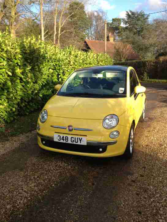Fiat 500 Diesel Yellow Private Seller