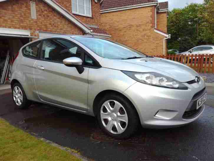 2008 FORD FIESTA STYLE PLUS 80 SILVER