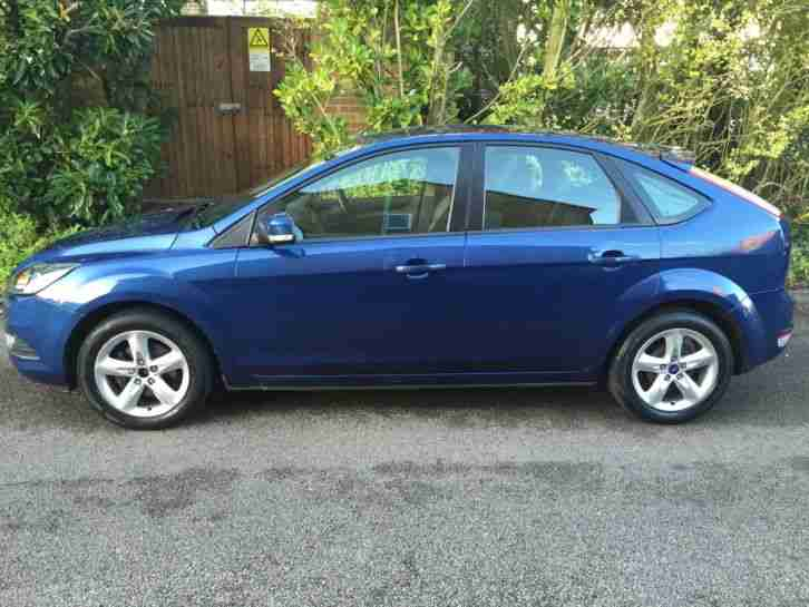2008 FORD FOCUS ZETEC 125 BLUE FSH