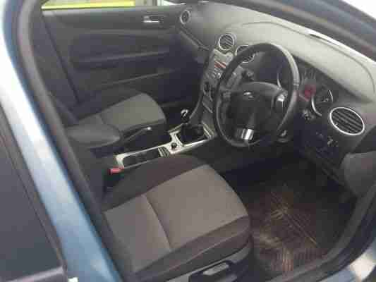 2008 FORD FOCUS ZETEC TD 109 BLUE NON RUNNER SPARES OR REPAIRS NO RESERVE