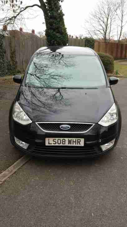 2008 FORD GALAXY LX TDCI A BLACK