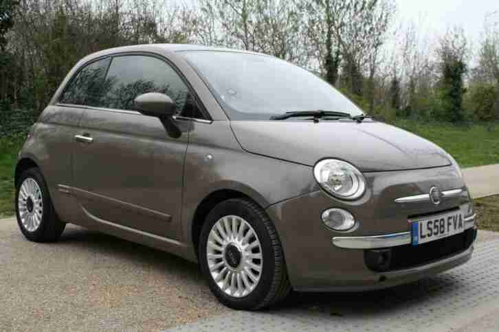 2008 Fiat 500 1.2 Lounge Dualogic AUTO, PETROL, PAN ROOF, HUGE SPEC, PX WELCOME