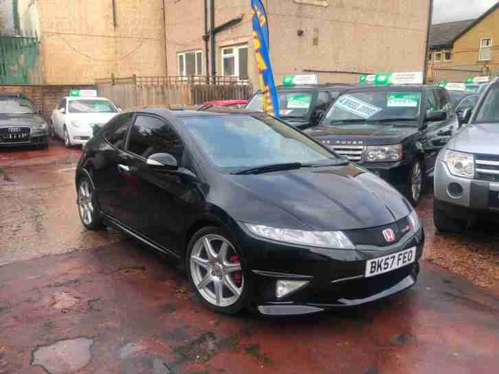 2008 HONDA CIVIC 2.0 I VTEC TYPE R GT FN2 NIGHTHAWK BLACK FSH 1 OWNER