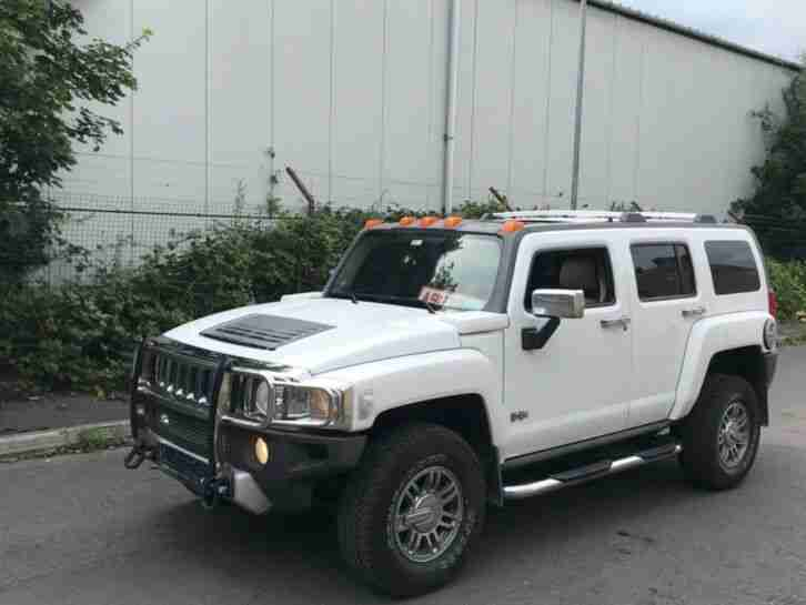 2008 H3 3.7 FRESH IMPORT LHD LEFT HAND
