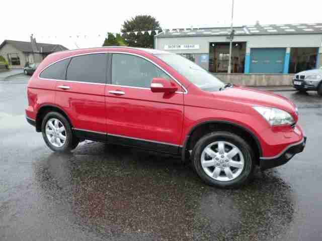 honda 2008 cr v es i cdti diesel red manual car for sale. Black Bedroom Furniture Sets. Home Design Ideas