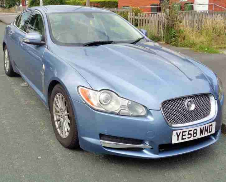 jaguar 2008 xf luxury d v6 a blue car for sale. Black Bedroom Furniture Sets. Home Design Ideas