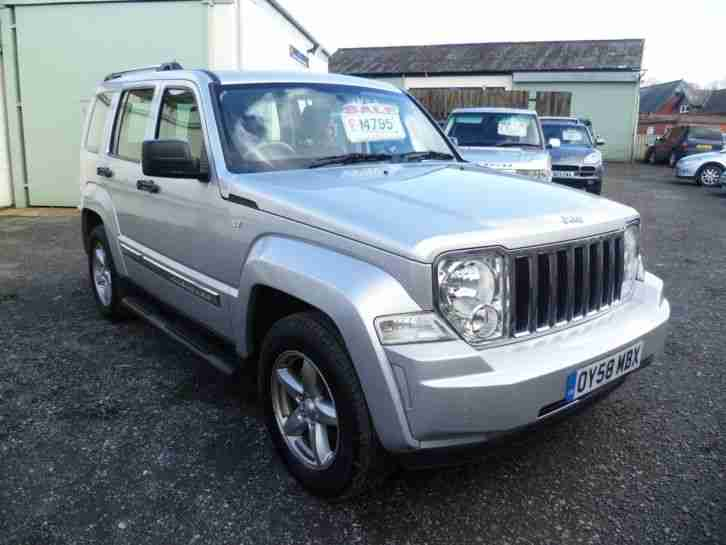 2008 JEEP CHEROKEE LIMITED 2.8 CRD AUTO SILVER