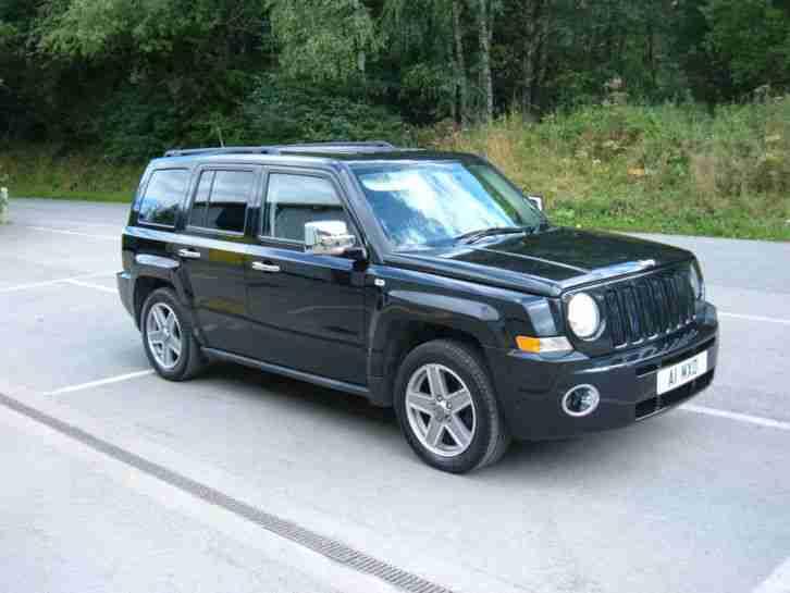 jeep 2008 patriot sport crd black 2 0ltr diesel car for sale. Black Bedroom Furniture Sets. Home Design Ideas