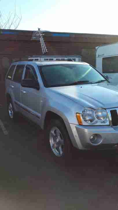 jeep 2008 grand cherokee 3 0 crd limited 5dr auto diesel silver car for sale. Black Bedroom Furniture Sets. Home Design Ideas