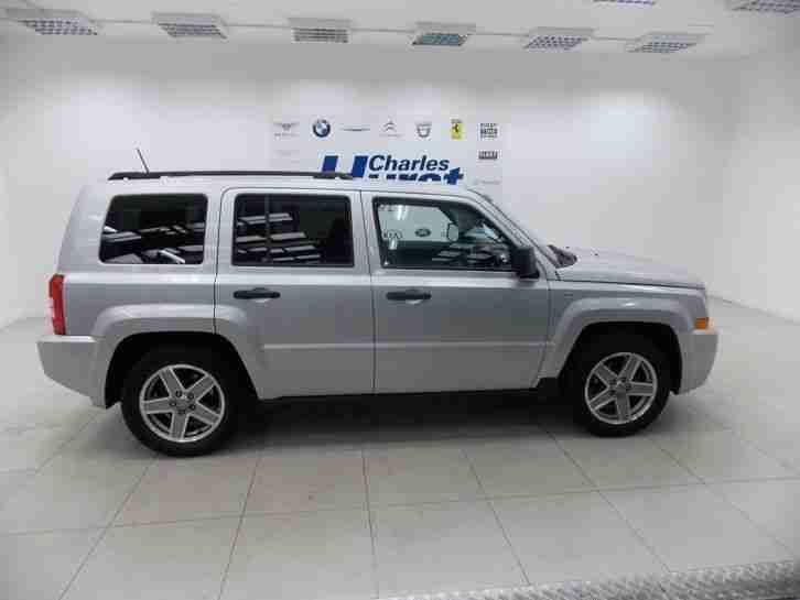 jeep 2008 patriot 2 4 sport 5dr petrol silver manual car for sale. Black Bedroom Furniture Sets. Home Design Ideas