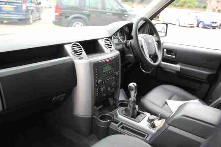 2008 land rover discovery 3 tdv6 gs full leather interior. Black Bedroom Furniture Sets. Home Design Ideas