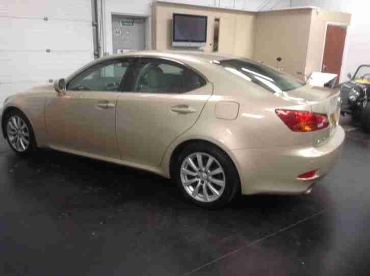 2008 LEXUS IS 250 SE-L BRONZE