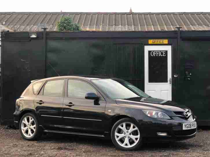 * 2008 MAZDA 3 SPORT 2.0D + BOSE SPEAKERS + ALLOYS + 6CD CHANGER *
