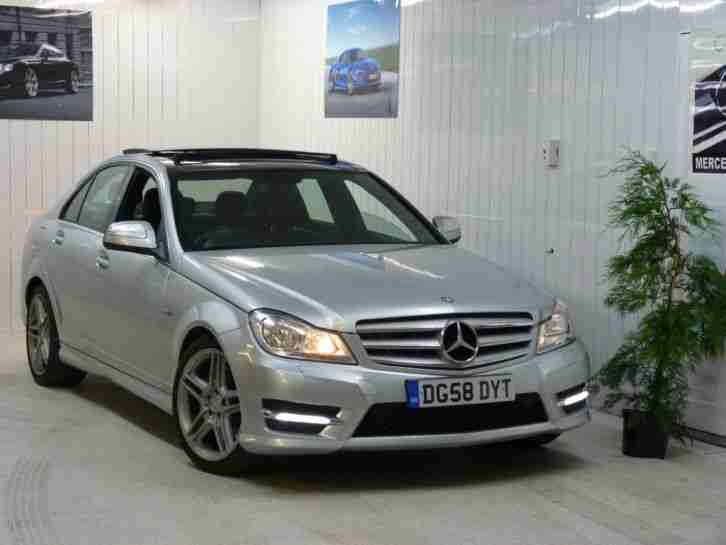 2008 mercedes class c320 amg sport 3 0 cdi auto silver 4 door 2012. Black Bedroom Furniture Sets. Home Design Ideas