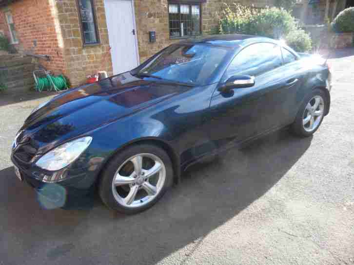 2008 MERCEDES SLK 200 VGC Only 62 k miles Heated Leather Seats Scarf Lots Extra