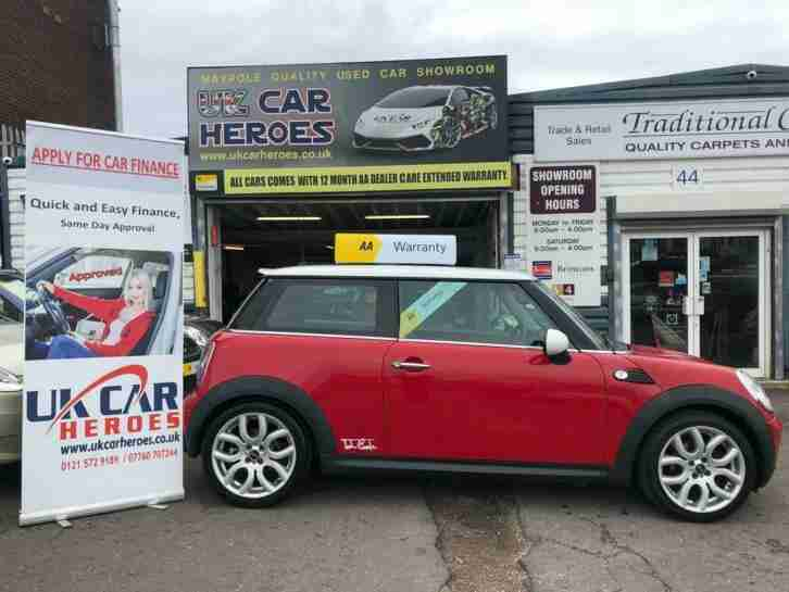 Mini Cooper Warranty >> Mini 2008 Cooper 1 6 Petrol 120 Cooper British Red Aa