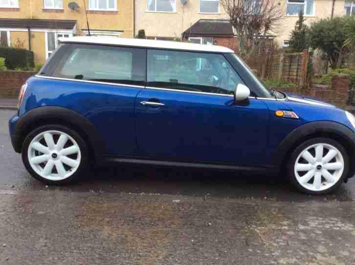 Mini 2008 Cooper D Blue Car For Sale