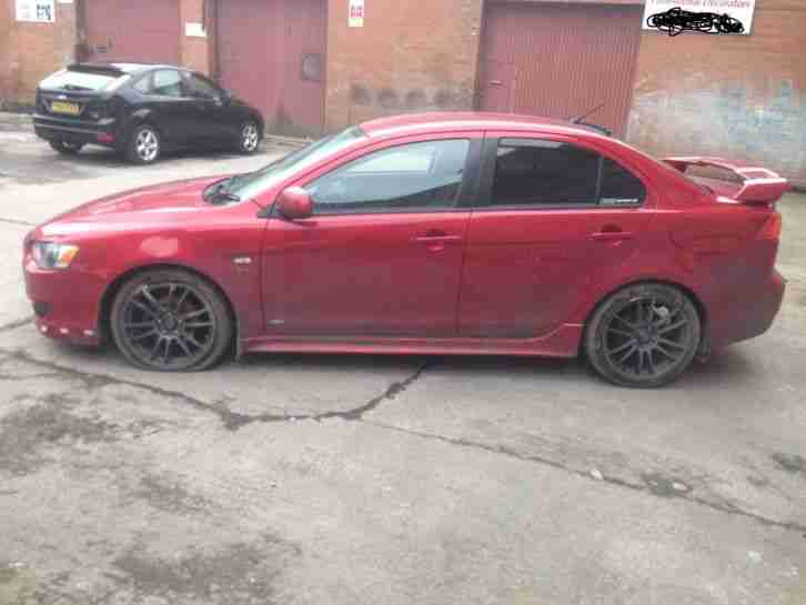 2008 MITSUBISHI LANCER GS3 AUTO 1.8 PETROL NT EVO DAMAGED REPAIRABLE SALVAGE