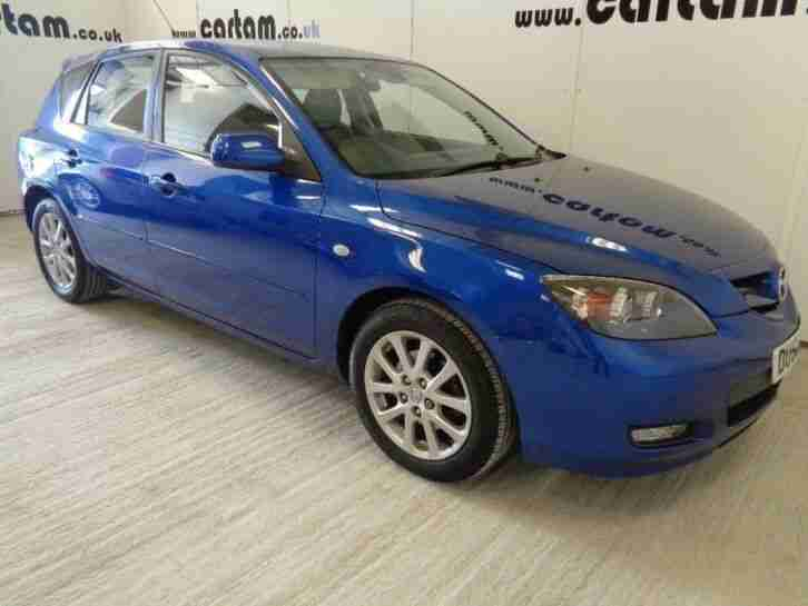 Mazda 3. Mazda car from United Kingdom