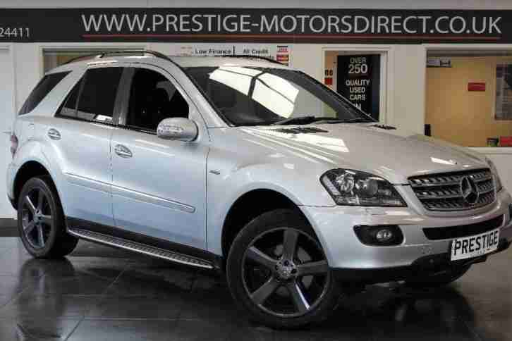 2008 Mercedes Benz M Class 3.0 ML320 CDI Edition 10 7G Tronic 5dr