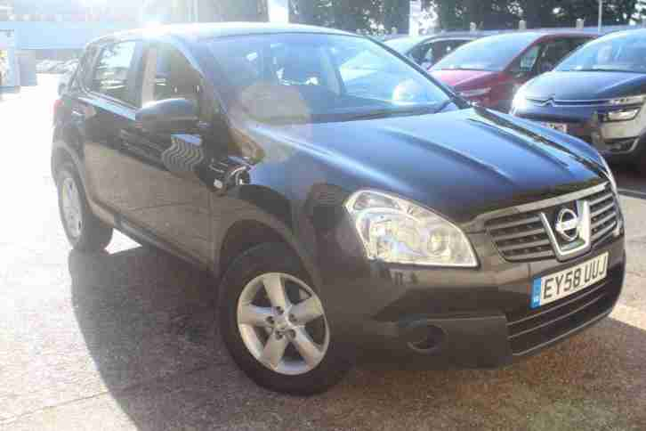 nissan 2008 qashqai 2 0 dci visia 4wd 5dr diesel automatic. Black Bedroom Furniture Sets. Home Design Ideas