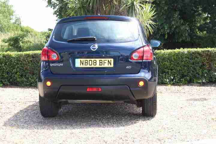 2008 Nissan Qashqai 1.5dCi 2WD Acenta 5 Door Hatchback Manual Diesel Family Car