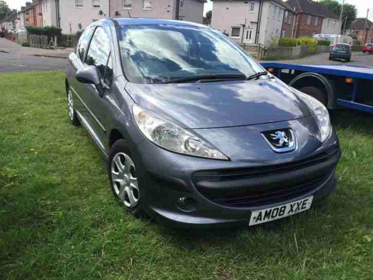 2008 PEUGEOT 207 S HDI 90 GREY SPARES OR REPAIRS NEEDS WORK