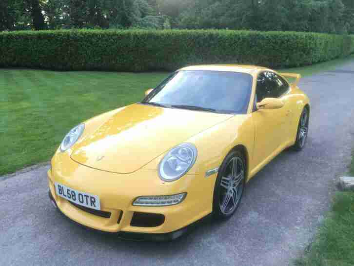 2008 PORSCHE 911 997 CARRERA TIPTRONIC S LEFT HAND DRIVE FACTORY AERO PACK