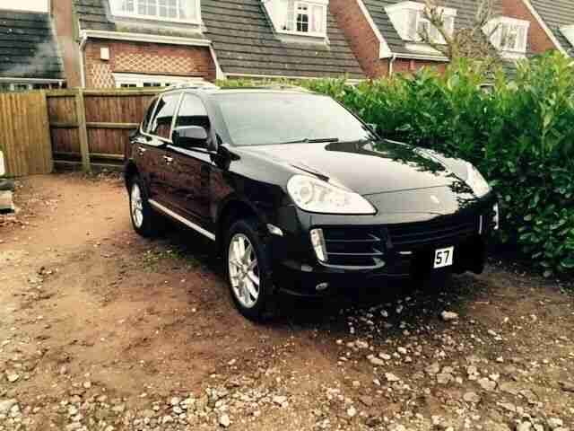 2008 CAYENNE TIPTRONIC BLACK