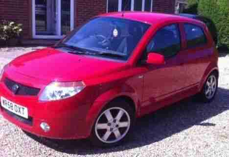 2008 PROTON SAVVY STYLE RED