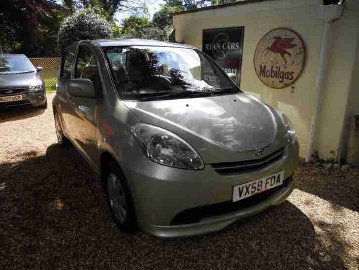 2008 Perodua MYVI 1.3cc SXi 5 Door in Metallic Silver Green