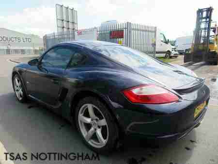 2008 Cayman 2.7 Blue Damaged Salvage