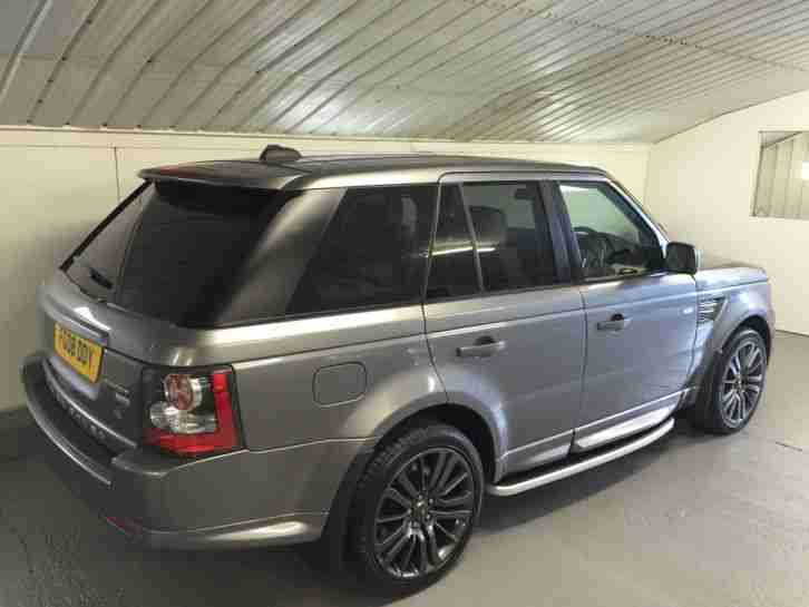 2008 range rover sport 3 6 hse tdv8 a grey facelift 2010 conversion. Black Bedroom Furniture Sets. Home Design Ideas
