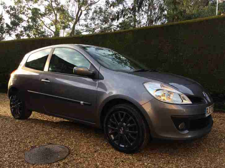 renault 2008 clio 1 2 tce turbo dynamique 3dr 71k miles 1 owner hpi. Black Bedroom Furniture Sets. Home Design Ideas