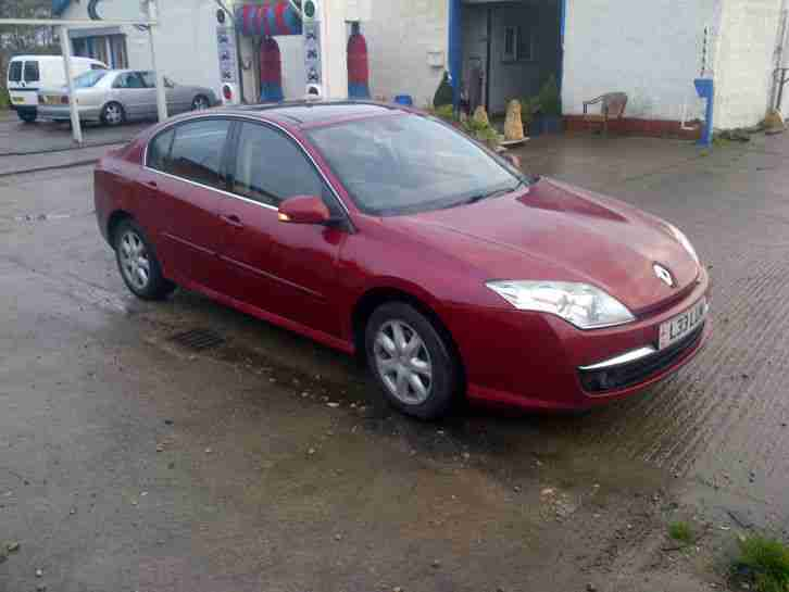 renault 2008 laguna dynamique dci 150 red car for sale. Black Bedroom Furniture Sets. Home Design Ideas