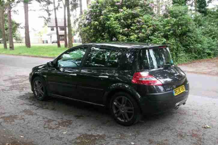 renault 2008 megane sport gt turbo 165 black sport car for sale. Black Bedroom Furniture Sets. Home Design Ideas