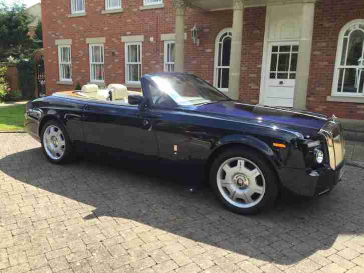 2008 rolls royce phantom 6 7 drophead auto convertible 2 door auto. Black Bedroom Furniture Sets. Home Design Ideas