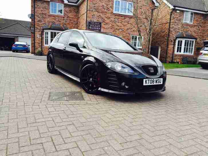 seat 2008 leon cupra k1 revo tuned inferi black stunning car must. Black Bedroom Furniture Sets. Home Design Ideas