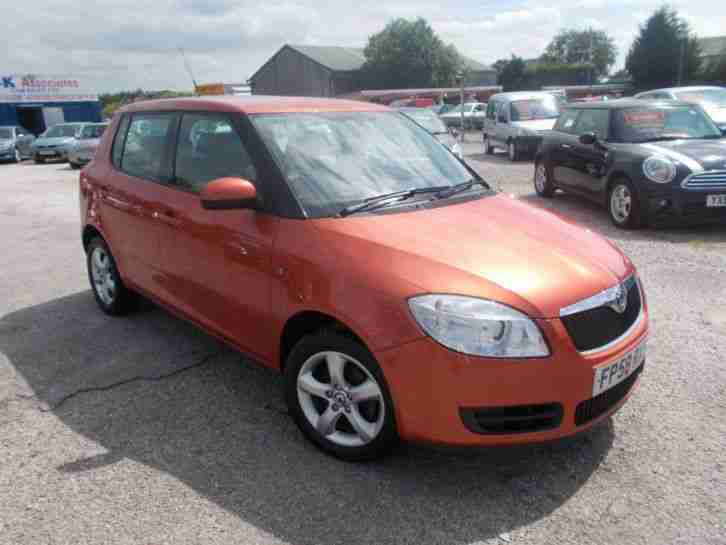 skoda 2008 fabia 1 2 htp 12v 2 5dr car for sale. Black Bedroom Furniture Sets. Home Design Ideas