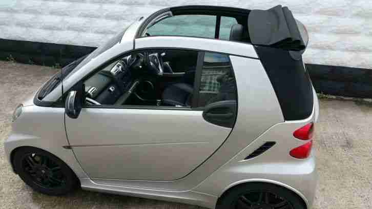 smart 2008 car fortwo brabus cabriolet convertible xclusive turbo. Black Bedroom Furniture Sets. Home Design Ideas