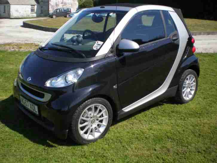 smart 2008 fortwo passion 71 convertible car for sale. Black Bedroom Furniture Sets. Home Design Ideas