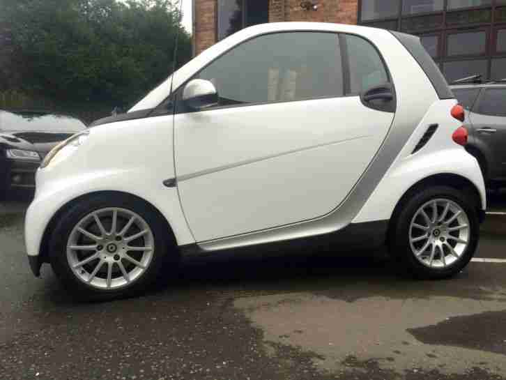 2008 SMART FORTWO PASSION 84 BHP AUTO WHITE HEATED SEATS AUX AIR CONDITIONING